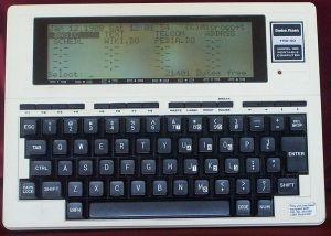 Radio Shack TRS 80 Model 100