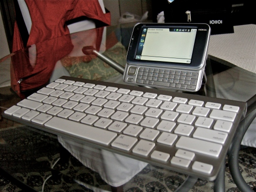 The netbook replacement in action