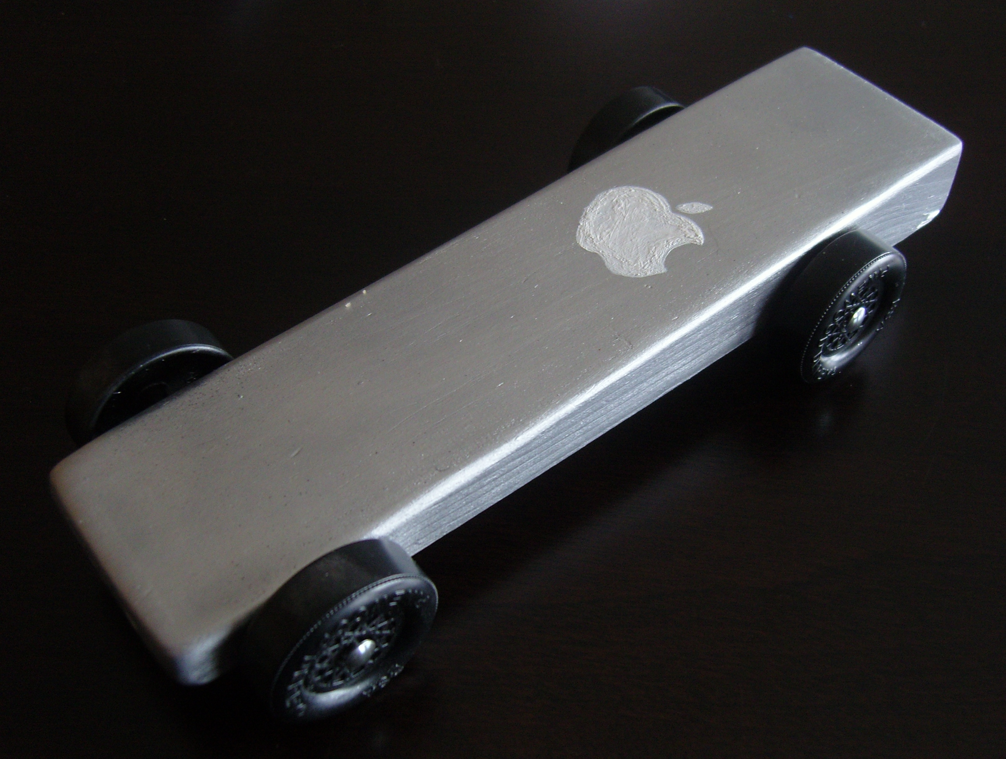The Macbook Air Pinewood Derby Car | Golfism -life is a metaphor ...